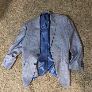 Sleek Blue Men's Large Jos. A. Bank Blazer